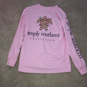 NWOT Simply Souther Christmas Long Sleeve Shirt